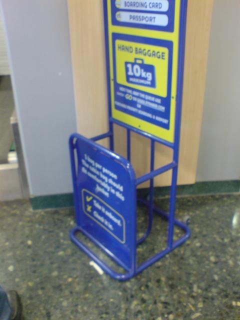 Ryanair cajón